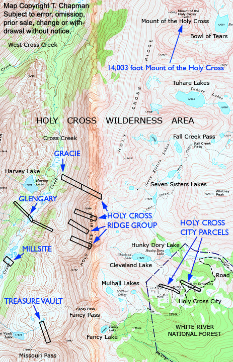 TDX Wilderness Package - Holy Cross City Duo